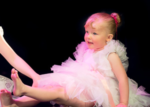 Little dancers dazzle onstage!