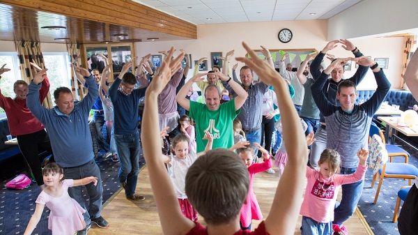Dance Dads fundraising success