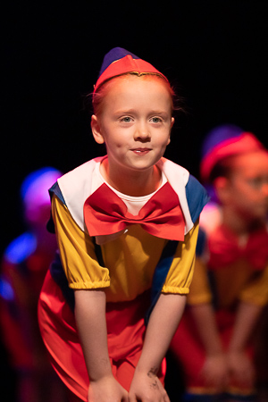 Queensferry junior dancers perform onstage