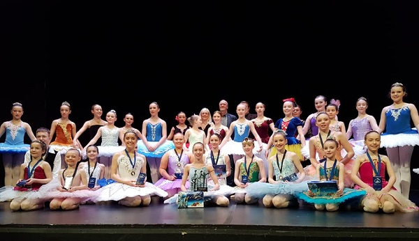 Russian Ballet competition success