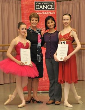 Natasha wins National Ballet competition!