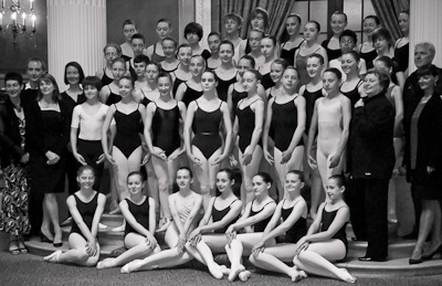 Students join the Royal Ballet at Gleneagles